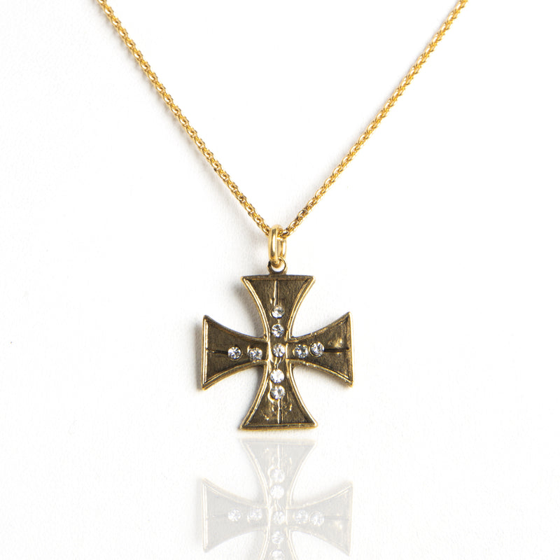 Cross of St John Charm