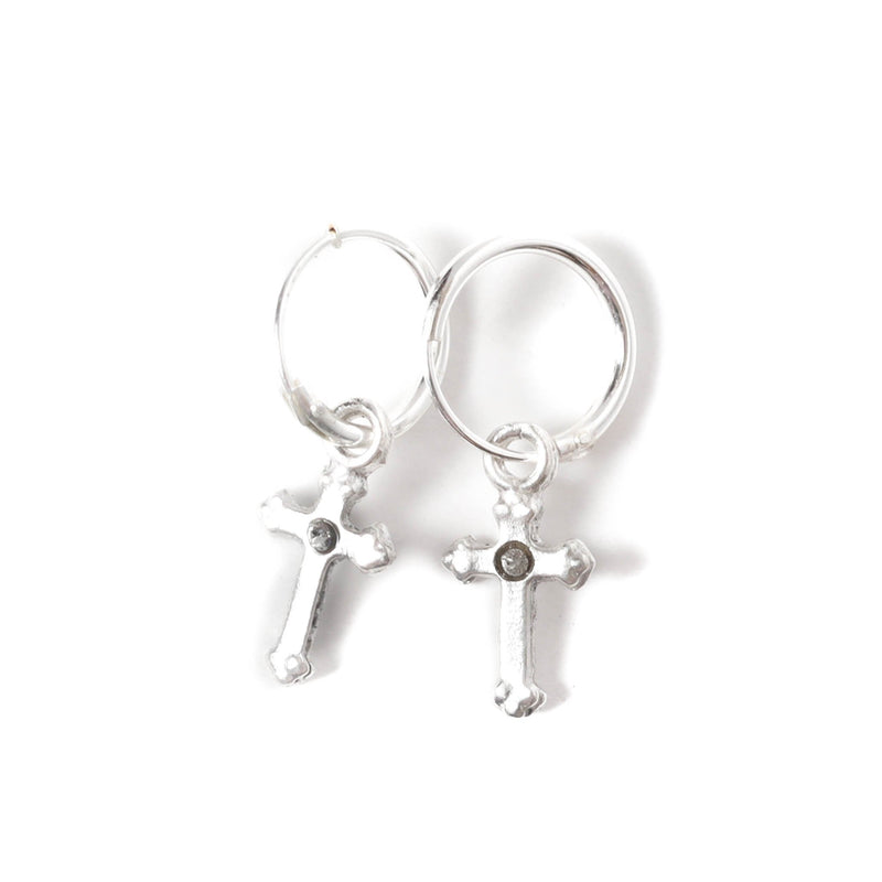 Hoop Lovers earrings - 925 sterling silver - VSA Designs