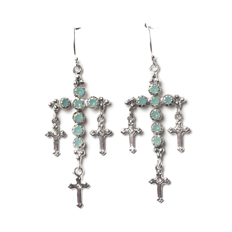 Madonna Multi-cross earrings