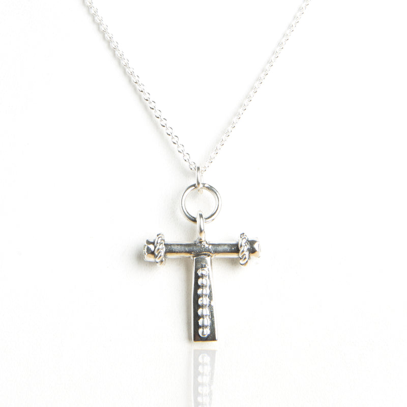 Holy Cruz! charm necklace