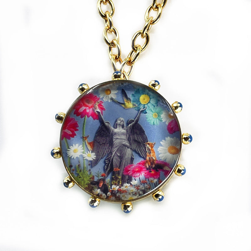 Baloo Brooche or Necklace