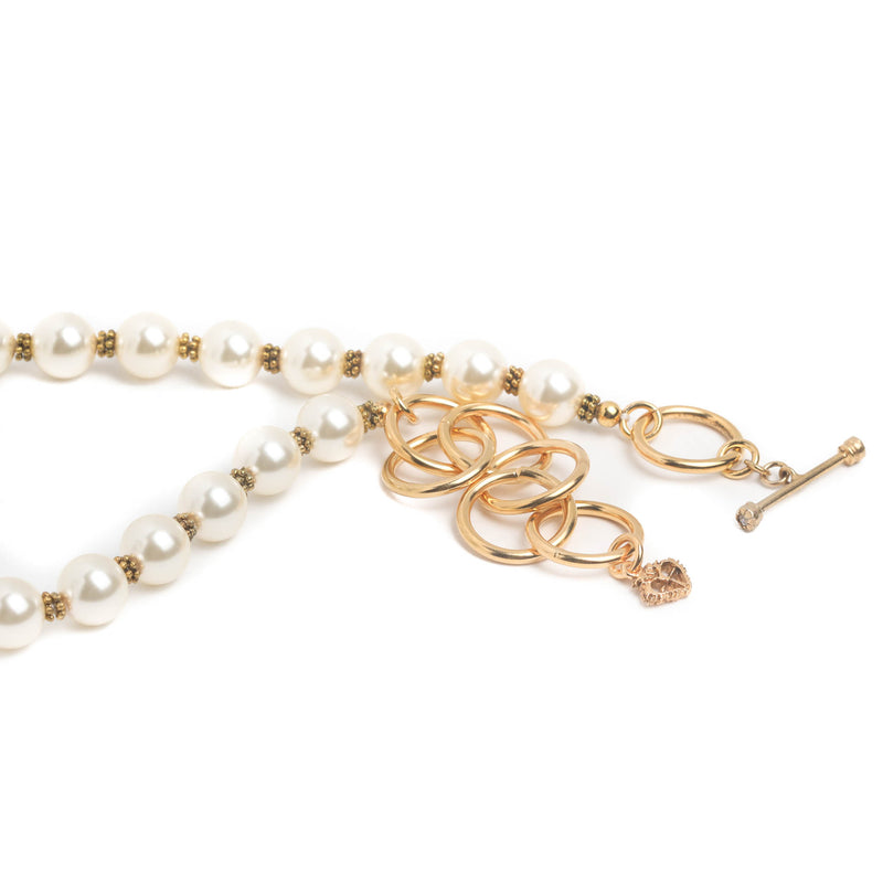 Classic Knotted 8mm Pearl Choker