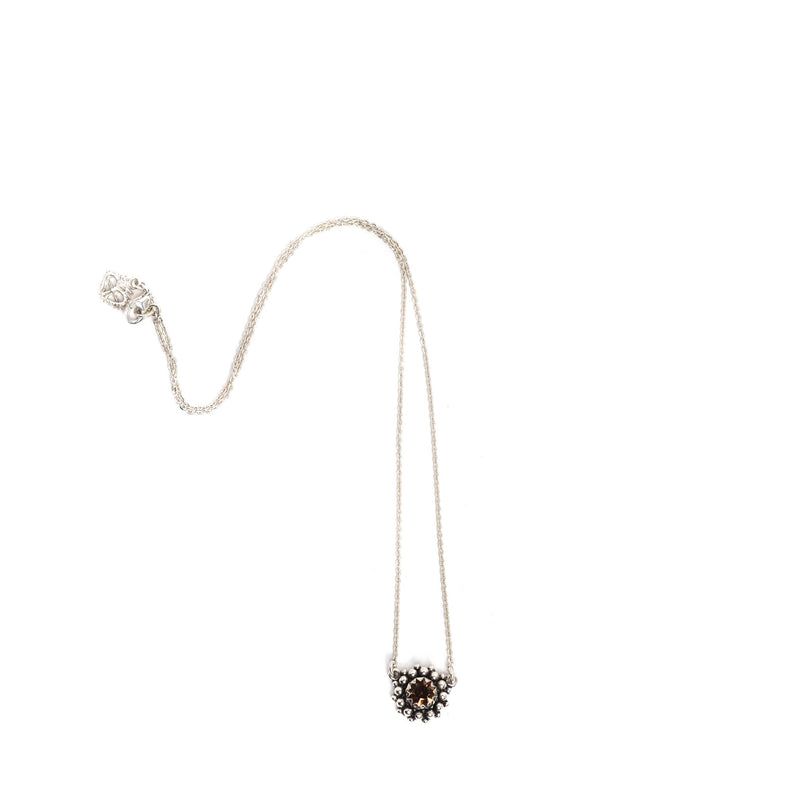 "Viv Charm 18"" Necklace - 925 Sterling Silver - VSA Designs"