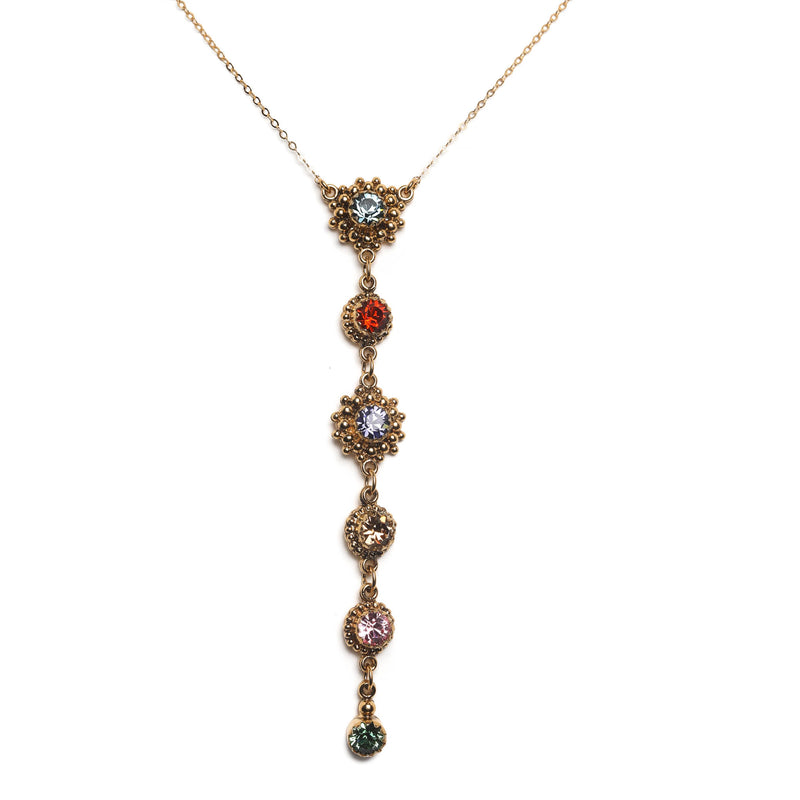 Viv Attitude Necklace - 925 Sterling Silver gold vermeil