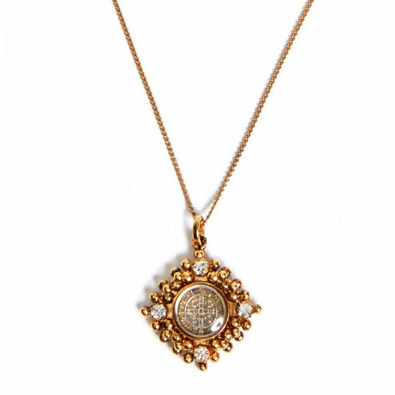 "Petite San Benito Cloister Necklace 17"" - VSA Designs"