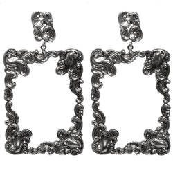 Archangel Gabriel Rectangle Earring