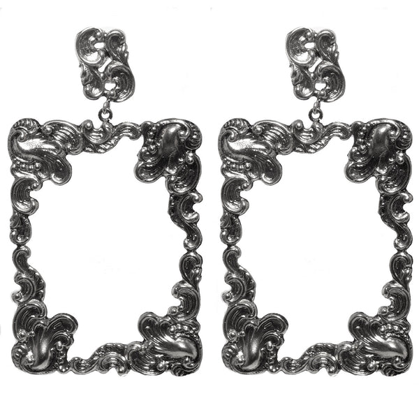 Archangel Gabriel Rectangle Earring - VSA Designs