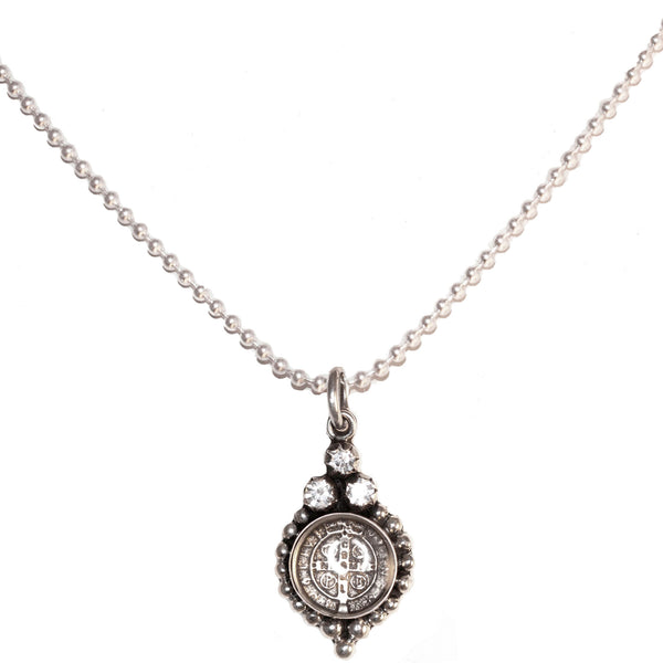 "Joanna 17"" Necklace - 925 sterling silver - VSA Designs"