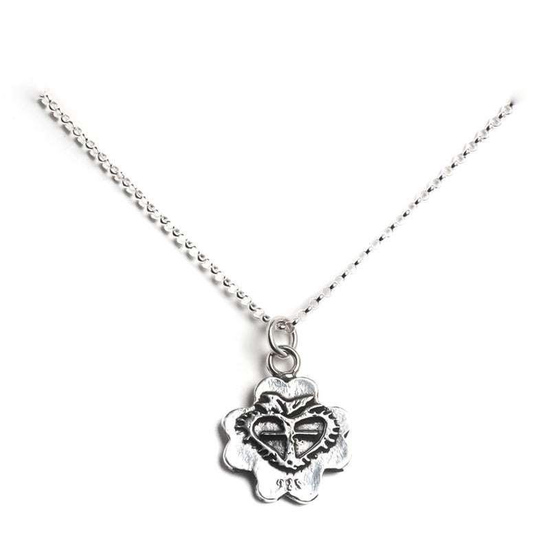 "My Lucky charm 15"" to 17"" chain - 925 sterling silver - VSA Designs"