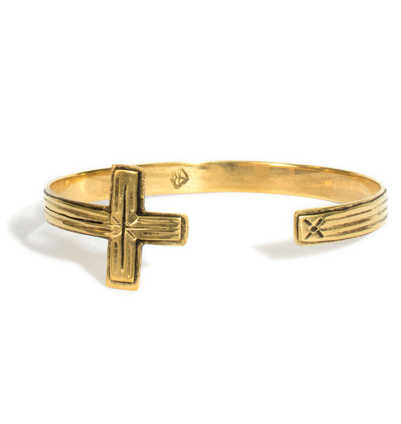 Santisimo Open Cross Cuff - VSA Designs