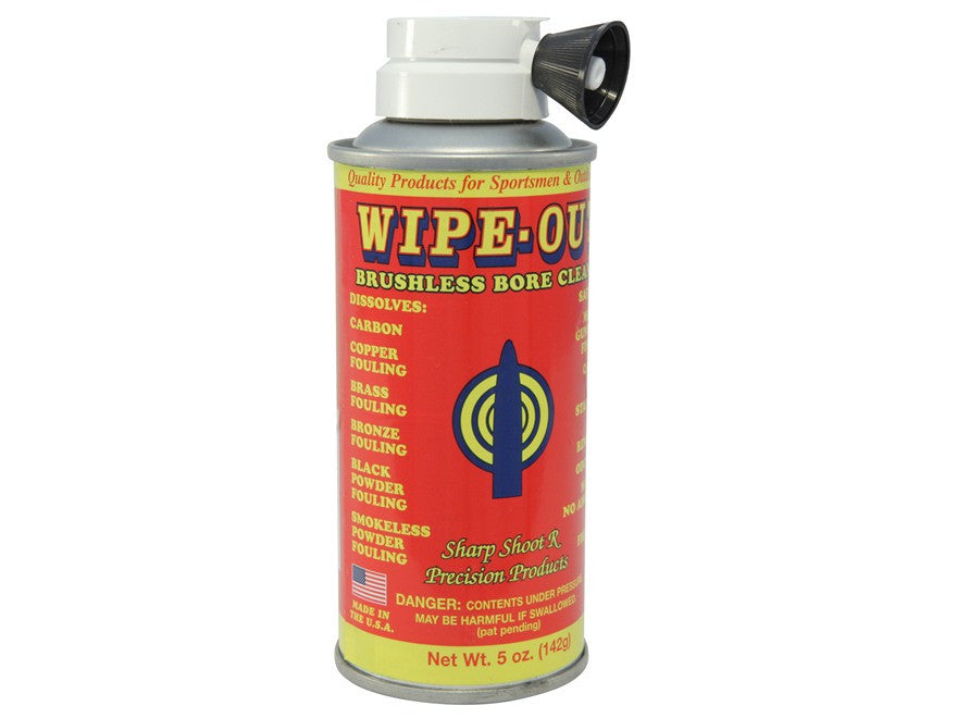 Wipe-Out Brushless Bore Cleaner