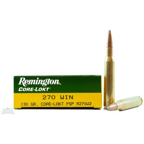 Remington Core-Lokt .270 Win 130gr (20 Rounds)