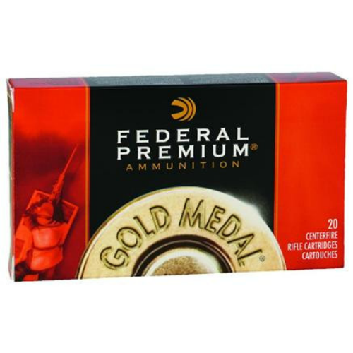 Case of Federal Premium Gold Medal .300 Win Mag 190gr Sierra Matchking BTHP (200 Rounds)