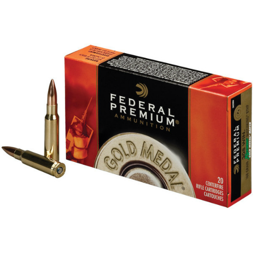 Federal Premium Gold Medal .308 Win 175gr Sierra Matchking BTHP (20 Rounds)