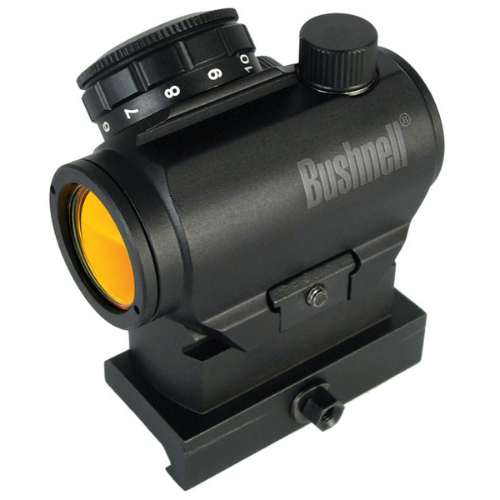 Bushnell AR optics TRS 25 tactical red dot with riser
