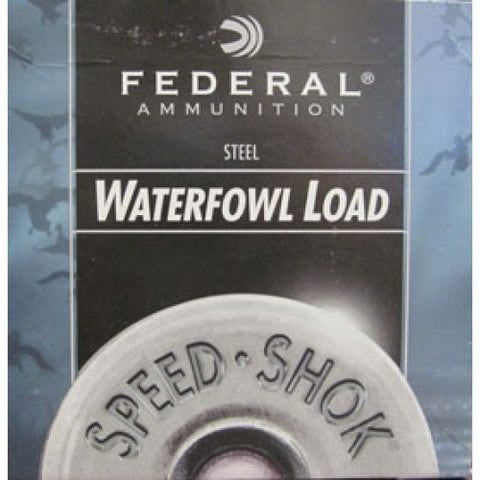 Federal Speed-Shok 12 Gauge2 3/4