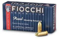 Fiocchi 7.65 Browning / .32 ACP 75 gr FMJ (50 Rounds)