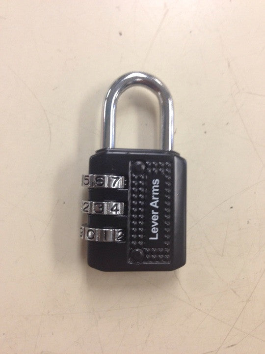 Lever Arms Combination lock