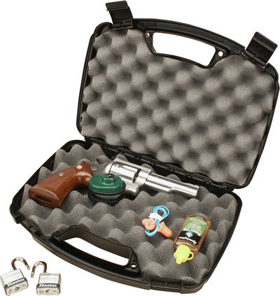 MTM HANDGUN CASE-SINGLE PISTOL ( BLACK)