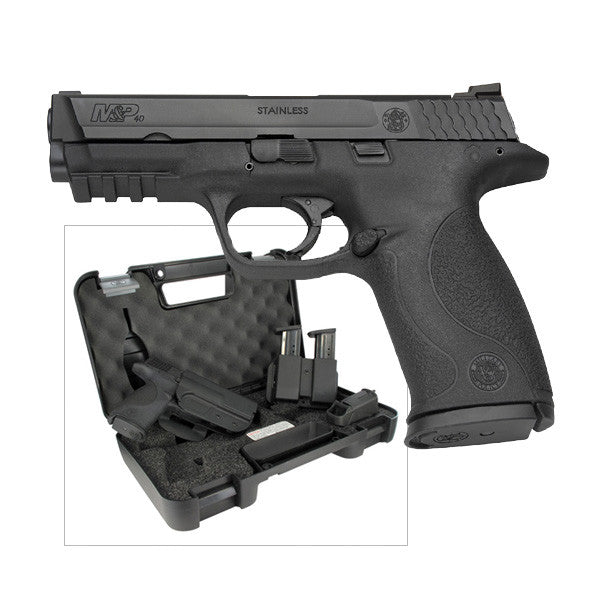 Smith and Wesson M&P9 9mm Pistol range ready kit