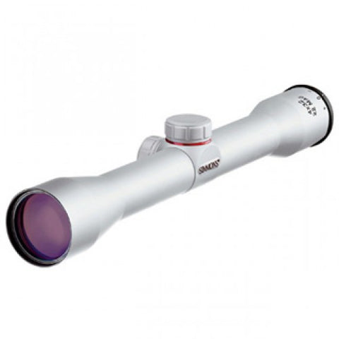 Simmons 22 Mag Rimfire Rifle Scope (4 x 32 Silver)
