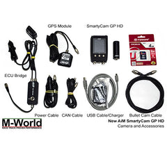 AiM SmartyCam GP HD Box Contents