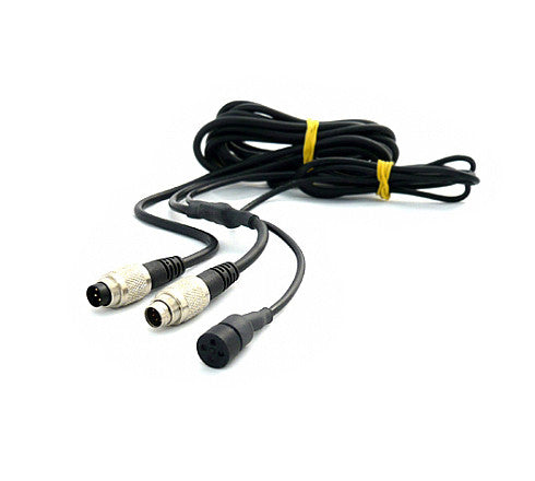 CAN Cable with External Mic (7-pin 712/male to 5-pin 712/male) - AiM SmartyCam HD (2.X/GP HD)