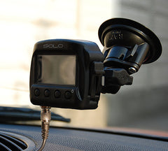 AiM Solo with Suction Cup Mount