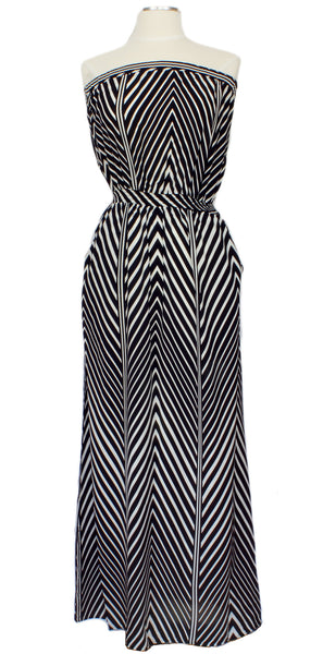 More Than A Million Miles Maxi, Ever Rose, Dress, chevron, Maxi, pockets