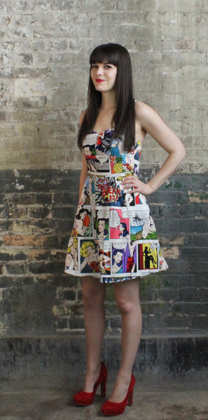 Cartoon Hero Dress, Ever Rose, Ever Rose Dress