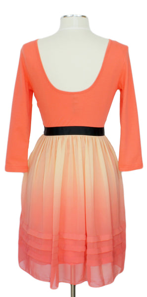 Running Wild Looking Pretty Dress, Ever Rose, formal, coral, dress, party