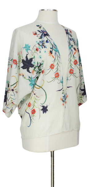 How Does Your Garden Grow, Cardigan, Ever Rose, Kimono, Floral
