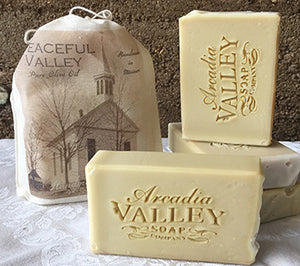 Peaceful Valley Unscented Olive Oil Soap