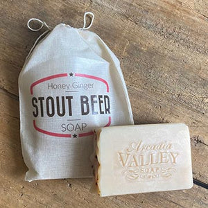 Honeyed Ginger Stout Beer Soap by Arcadia Valley Soap Co