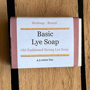 Packaging for Basic Lye Soap by MoSoap