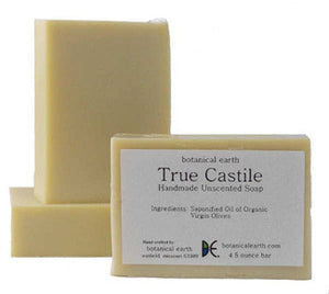 Botanical Earth Olive Oil Unscented Soap Fragrance-free