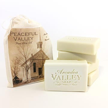 Peaceful Valley Olive Oil Soap by Arcadia Valley Soap Co