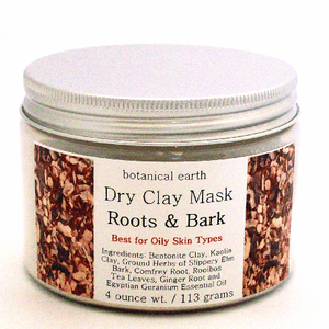 Dry Clay Mask for Troubled Skin Types - Roots and Bark