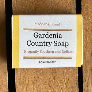 Packaging for Gardenia Country Lye Soap