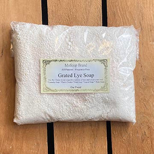 Fragrance free Grated Lye Soap