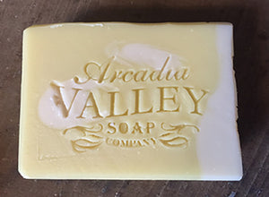 Gentle Honeysuckle Shea Butter Soap by Arcadia Valley Soap