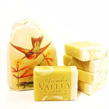 Honeysuckle Handmade Shea Butter Soap