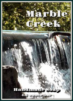 Front of Marble Creek Handmade Soap Decorative Bag