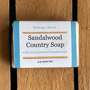 Packaging for Sandalwood Country Soap