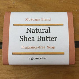 Natural unscented Shea Butter Olive Oil Handmade Soap
