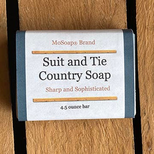 Packaging for Suit and Tie Country Soap