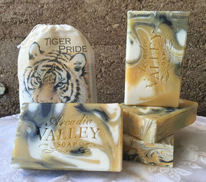 Tiger Pride Lemongrass Handmade Soap