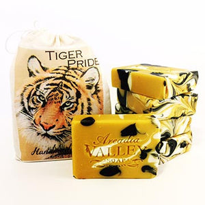 Tiger Pride Handmade Lemongrass Essential Oil Soap