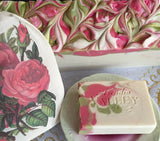 Valentines Valley Rose soap