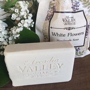 White Flowers Handmade Shea Butter Soap
